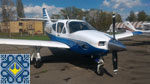Kiev Light Aircraft Charter | Rockwell Commander 114 at Kiev, Borodyanka Airfield