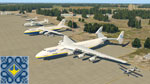 Kiev Flight Simulator Boeing 737 with An-225 Mriya, An-124 Ruslan, An-22 Antei in Antonov Airport (GML, UKKM)