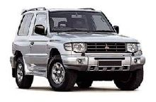 Car Rental Hire Ukraine - Mitsubishi Pajero 3