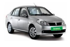 Car Rental Hire Ukraine - Renault Symbol 1.4