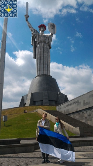 Mother Motherland Monument tour to observationa platform of 91 meters, Kiev, Ukraine | Tourists from Sweden