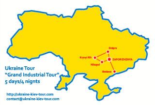 Ukraine Grand Industrial Tour Kryvyi Rih Dnipro Zaporizhzhya