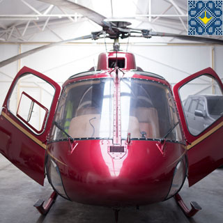 Lviv Helicopter Tour | Helicopter Tour on Eurocopter AS355