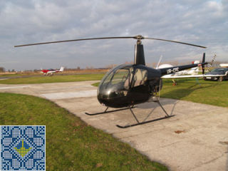 Helicopter Training Tour on helicopter Robinson R22 in Kremenchuk