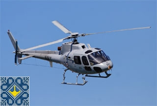 Helicopter Eurocopter AS 350