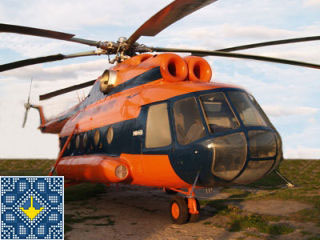 Ukraine Kiev Sights | State Aviation Museum | Helicopter Mil Mi-8