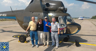 Ukraine Grand Aviation Tour | Shiroke Airfield Helicopter Charter by helicopters Mi-2 / MSB-2