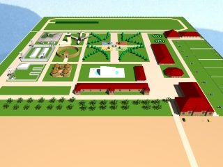 Investment Project | National Military Museum-Park | General view