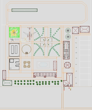 Investment Project | National Military Museum-Park | Plan of Tourist Complex