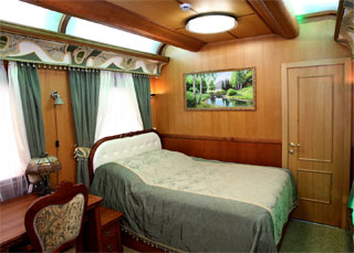 Kharkiv Private Railroad Car № 043-70771 | Double Room