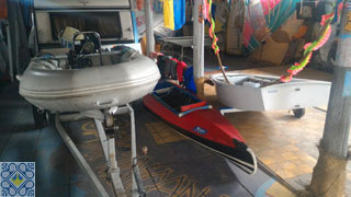 Kiev Campsite Pictures | Kiev Campsite Dinghy and Kayak Rental