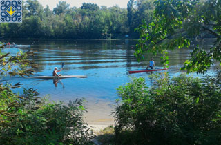 Kiev Campsite Pictures | Kiev Campsite Beach and Canoe Rental