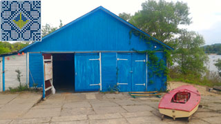 Kiev Campsite Pictures | Kiev Campsite Hangar with dancing stage, billiards and table tennis