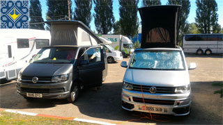 Kiev Campsite Chayka | Open Parking Pitches