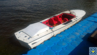 Kiev Hydrofoil Volga Cruises by Dnieper River on speed of up to 60 km/h