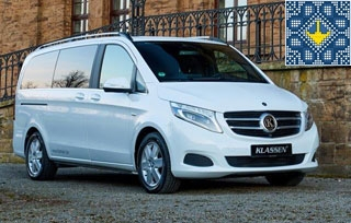 Klassen Luxury Vans Rental in Ukraine | Klassen Car