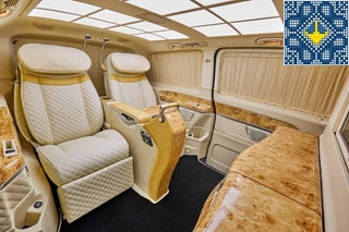 Klassen Luxury Vans Rental in Ukraine | Klassen Van Interior