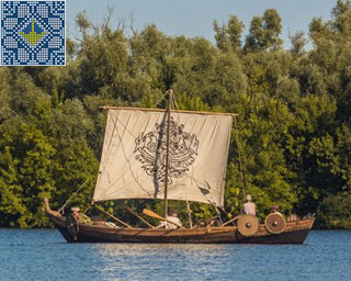 Medieval Rook Freya Tour in Kherson | Sailing on Dnieper River
