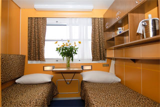 Ukraine Cruises Kyiv - Odesa by Dnieper River on Luxury Ship | Cabin