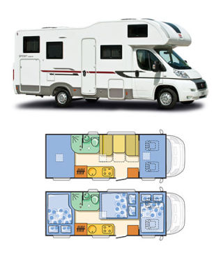 >Rent Motorhome in Kiev, Ukraine with GPS Navigation (Waypoints) for Ukraine Tour Tunnel of Love | ADRIA Sport A 660 DP