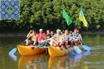 Ukraine Rafting Tours | Rafting on Catamarans on Dniester River | Eco Adventures