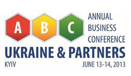 ABC: Ukraine Partners Business Conference 2013 | On 13th-14th of June 2013 in Kiev, Ukraine