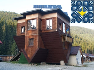 Bukovel Sights | Upside Down House near largest Ukrainian Ski Resort