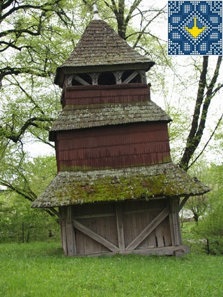 Kuhaiv Sights | Wooden Church of Epiphany (1693)
