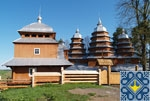 Matkiv Sights | Wooden Church of Synaxis of Blessed Virgin Mary (1838) | UNESCO World Heritage