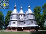 Nyzhniy Verbizh Sights | Wooden church of Nativity of Blessed Virgin Mary (1788) | UNESCO World Heritage