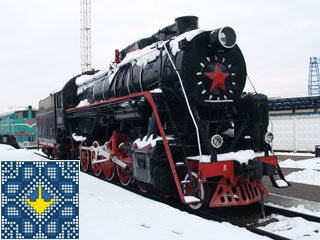 Kiev Sights | Railway Transport Museum | Locomotives and Wagons