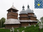 Rohatin Sights | Wooden Church of St. Nicholas (1729)