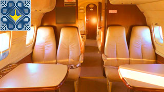 Yak-40 Air Charter | 10-Seater Business Jet | Salon